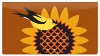 Click on Goldfinch and Cardinal Checkbook Cover For More Details