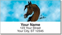 Click on Arabian Horse Address Labels For More Details