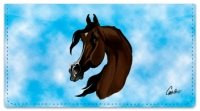Click on Arabian Horse Checkbook Cover For More Details