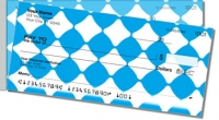 Click on Aqua Blue Bead Side Tear Personal Checks For More Details