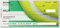 Click on Classic Tennis Ball Personal Checks For More Details