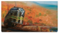 Click on Classic Diesel Locomotive Checkbook Cover For More Details