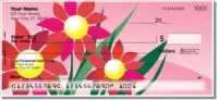 Click on Spring Flower Personal Checks For More Details