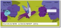 Click on Colorful Hummingbird Personal Checks For More Details