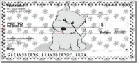 Click on Cute Cat & Dog Personal Checks For More Details