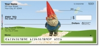 Click on Garden Gnome Personal Checks For More Details