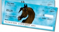 Click on Arabian Horse Side Tear Personal Checks For More Details