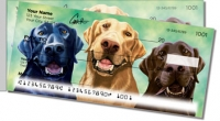Click on Labrador Retriever Side Tear Personal Checks For More Details