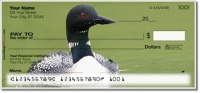Click on Common Loon Personal Checks For More Details