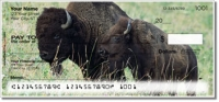 Click on American Bison Personal Checks For More Details