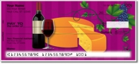 Click on Wine & Cheese Personal Checks For More Details