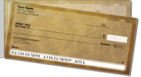 Click on Brown Burlap Side Tear Personal Checks For More Details