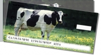 Click on Dairy Cow Side Tear Personal Checks For More Details