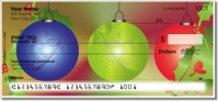 Click on Christmas Ornament Personal Checks For More Details