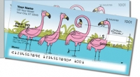 Click on Scrivan Flamingos Side Tear Personal Checks For More Details