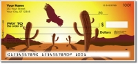 Click on Desert Scenery Personal Checks For More Details