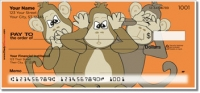 Click on No Evil Monkey Personal Checks For More Details