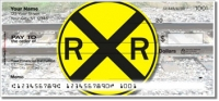 Click on Railroad Crossing Personal Checks For More Details
