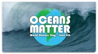 Click on World Oceans Day Checkbook Cover For More Details