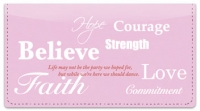 Click on Words of Hope Checkbook Cover For More Details
