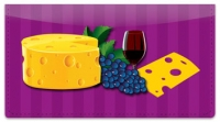 Click on Wine & Cheese Checkbook Cover For More Details