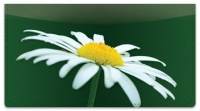 Click on White Flower Checkbook Cover For More Details