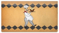 Click on Whimsical Chef Checkbook Cover For More Details