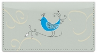 Click on Whimsical Bird Checkbook Cover For More Details