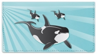 Click on Whale Checkbook Cover For More Details