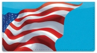 Click on Waving US Flag Checkbook Cover For More Details