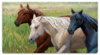 Click on Madaras Horses Checkbook Cover For More Details