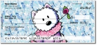 Click on Westie Floral Personal Checks For More Details