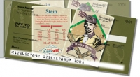 Click on Vintage Baseball Card Side Tear Personal Checks For More Details