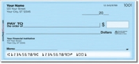 Click on Multi-Color Safety Personal Checks For More Details