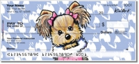 Click on Yorkie Series 1 Personal Checks For More Details