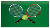 Click on Tennis Checkbook Cover For More Details