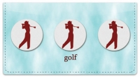 Click on Teeing Off Checkbook Cover For More Details