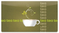 Click on Tea Time Checkbook Cover For More Details