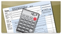 Click on Tax Day Checkbook Cover For More Details