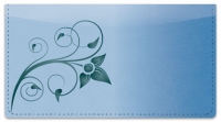 Click on Swirling Vine Checkbook Cover For More Details