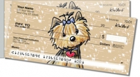Click on Yorkie Series 2 Personal Checks For More Details