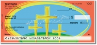 Click on Christian Cross Personal Checks For More Details