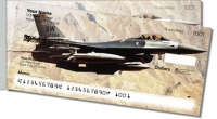 Click on F-16 Fighter Jet Personal Checks For More Details