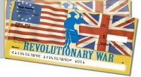 Click on Revolutionary War Side Tear Personal Checks For More Details