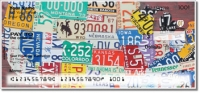 Click on California License Plate Personal Checks For More Details