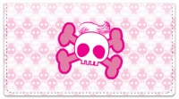 Click on Stylish Skull Checkbook Cover For More Details