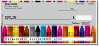 Click on Cute Crayon Personal Checks For More Details
