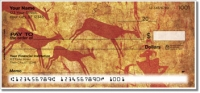 Click on Cave Painting Personal Checks For More Details