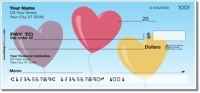 Click on Heart Balloon Personal Checks For More Details