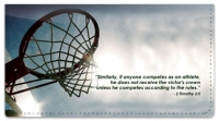 Click on Sports Scripture Checkbook Cover For More Details
